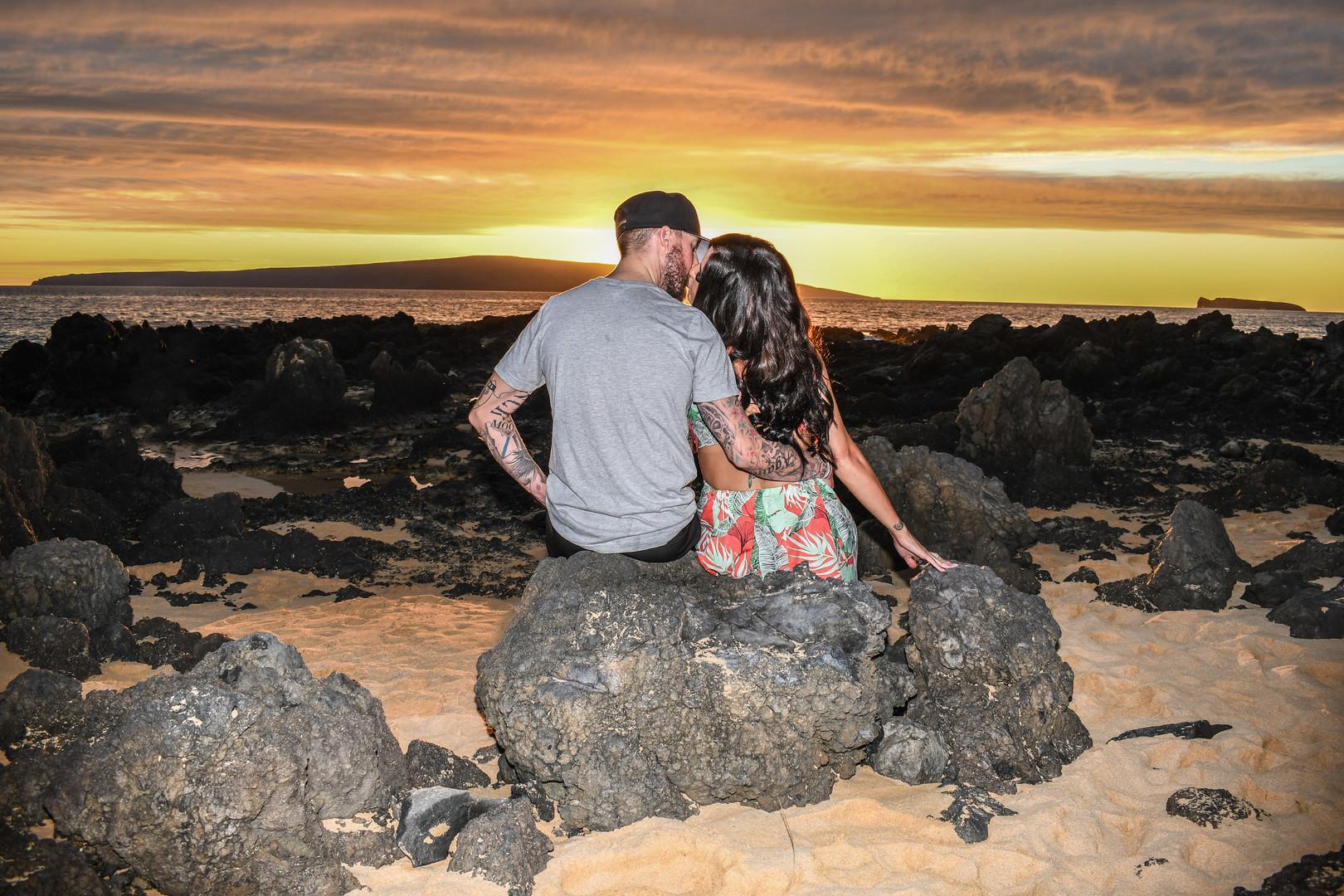 Sunset, Maui Couple Session