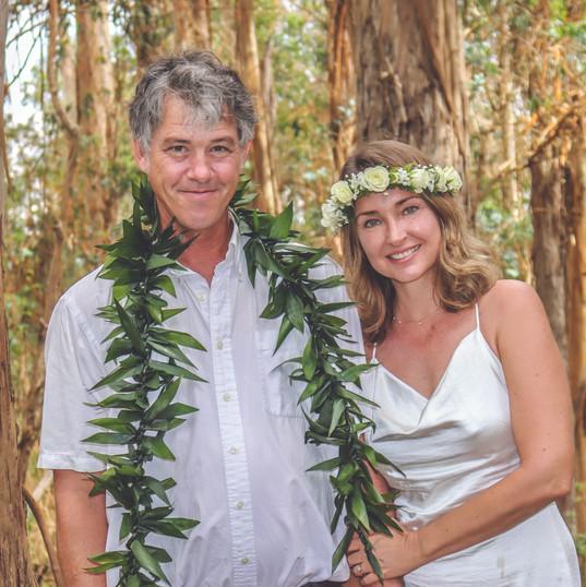 Upcountry Wedding Maui