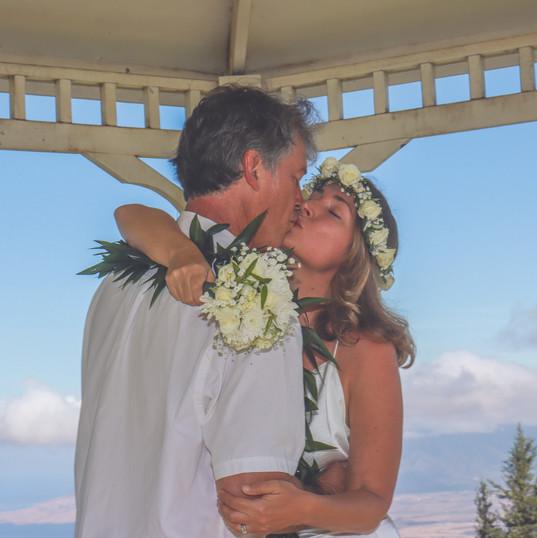 Upcountry Maui Wedding