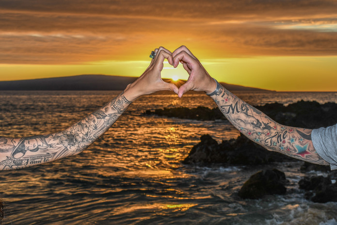 Forever Heart - Maui Photography