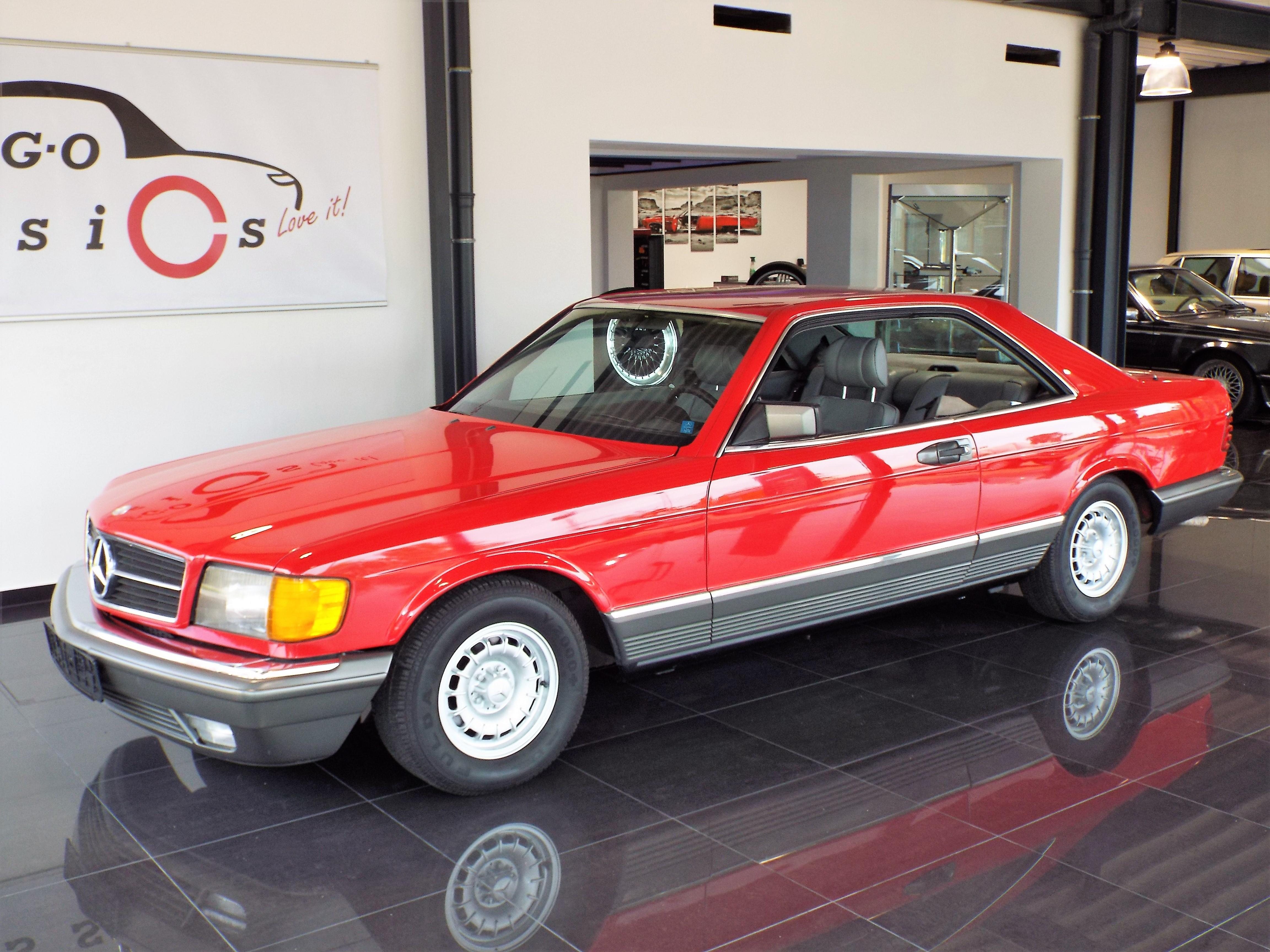 Mercedes 500 SEC C126