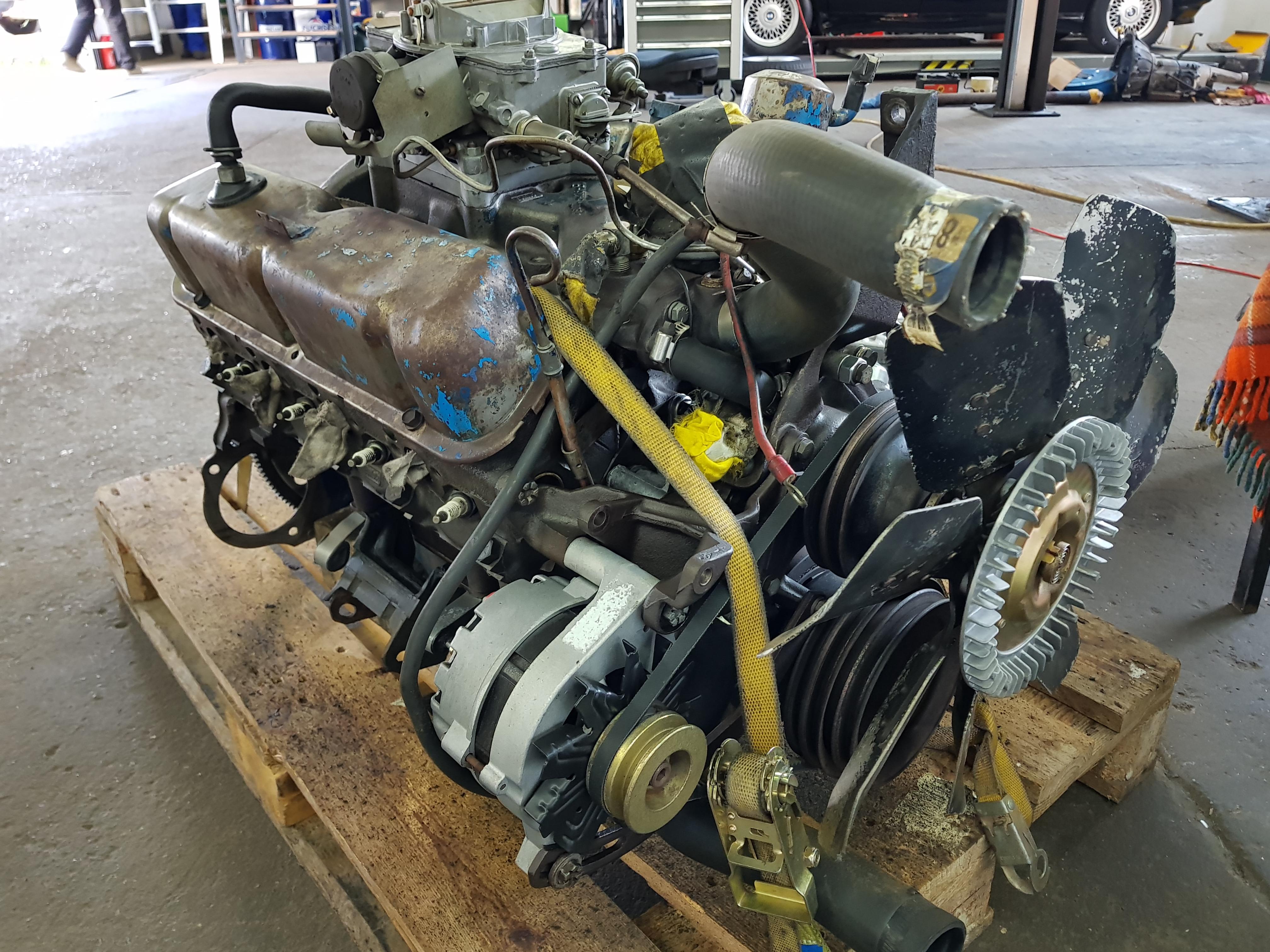 Mustang 289 Motorüberholung