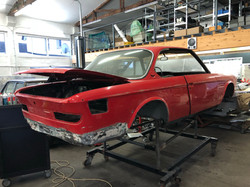 BMW E9 Restauration