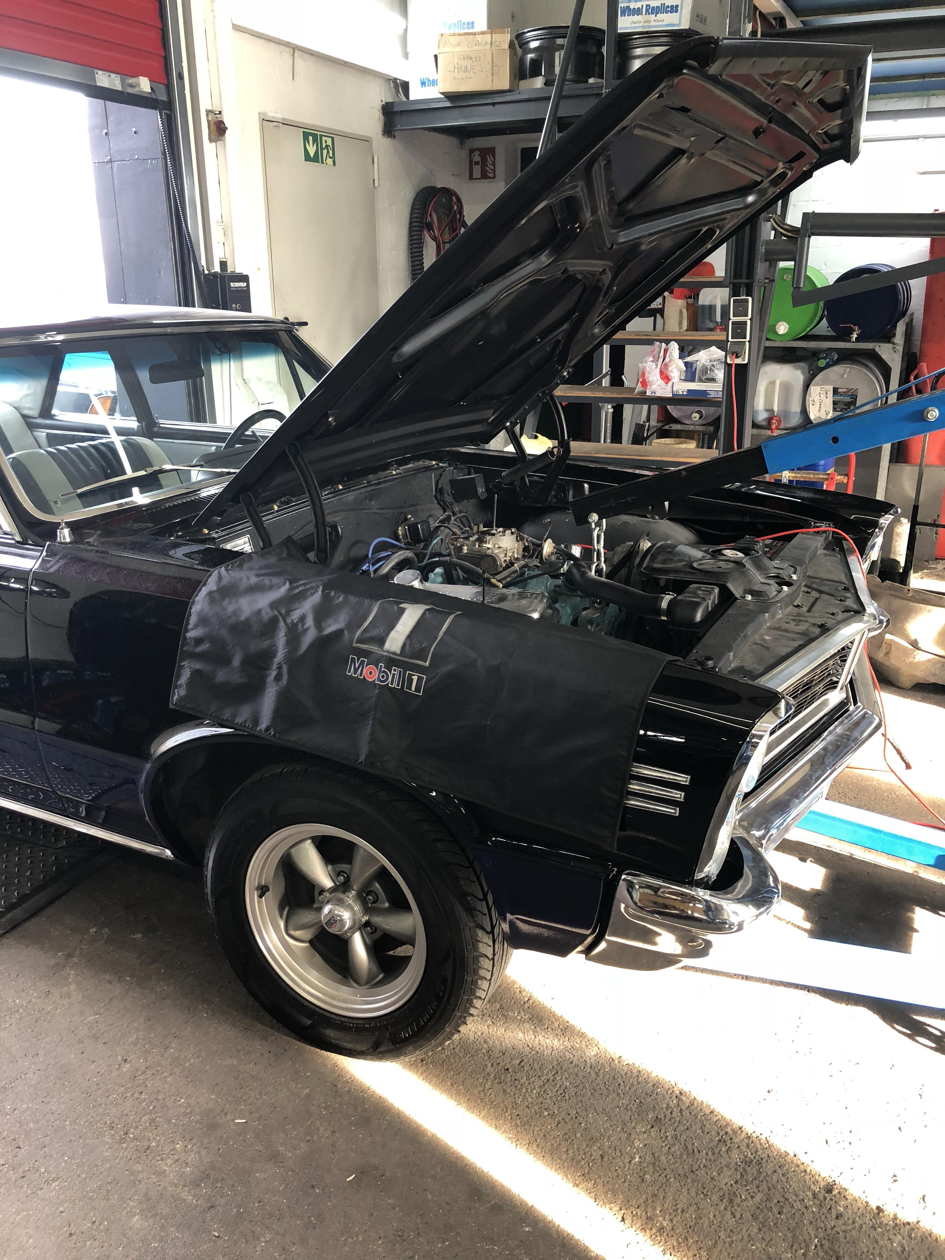 1965 Pontiac GTO nachher