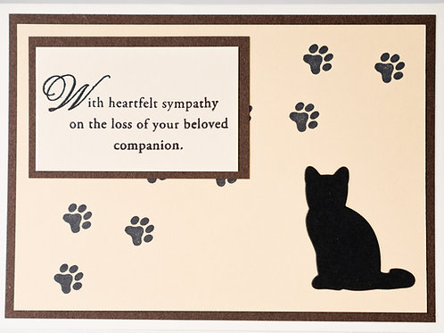 Sympathy for a Pet (Dog, Cat, or Horse)