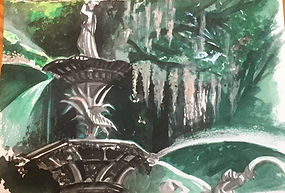 Savannah Fountain, 7 x 10 75.jpg