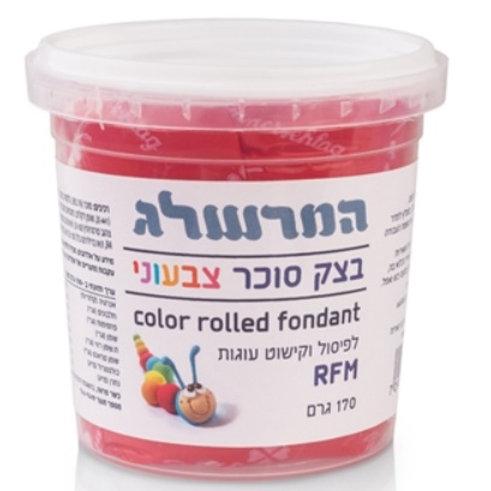 בצק סוכר 170 גרם צבע אדום
