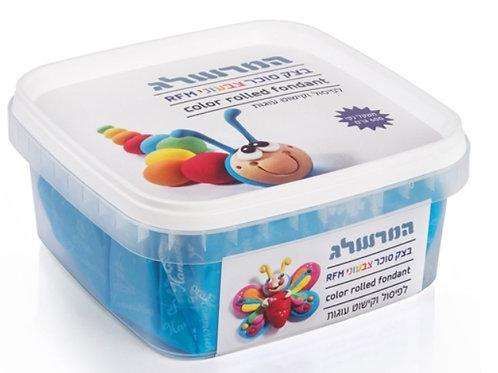 בצק סוכר 600 גרם צבע כחול