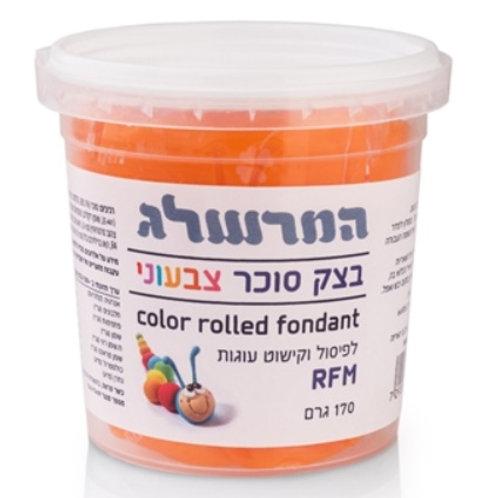 בצק סוכר 170 גרם צבע כתום