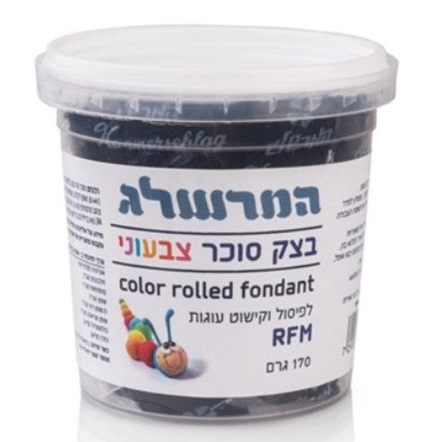 בצק סוכר 170 גרם צבע שחור