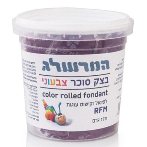 בצק סוכר 170 גרם צבע סגול