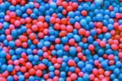 סוכריות מזרה מיקס כחול אדום