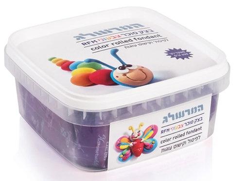 בצק סוכר 600 גרם צבע סגול