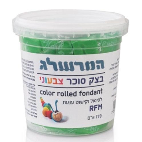 בצק סוכר 170 גרם צבע ירוק