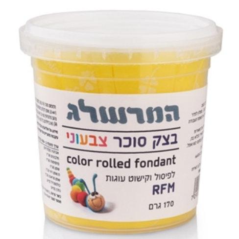בצק סוכר 170 גרם צבע צהוב
