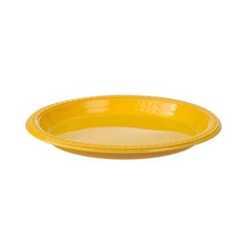 צלחת רויאל צהוב גדול