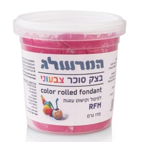 בצק סוכר 170 גרם צבע ורוד