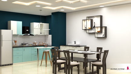Modular Kitchen and Dining