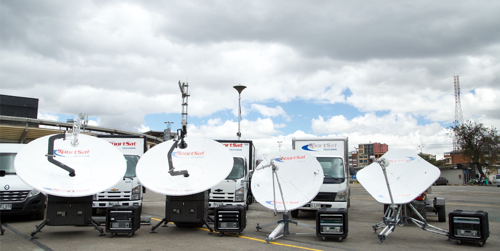 servicios de transmision satelital sport