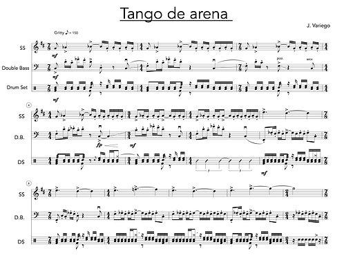 Tango de Arena (score and parts)