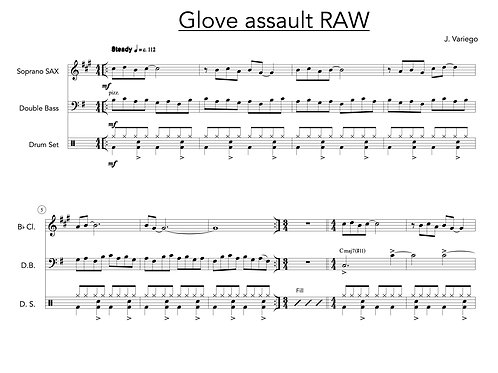 Glove Assault (raw version - score and parts)