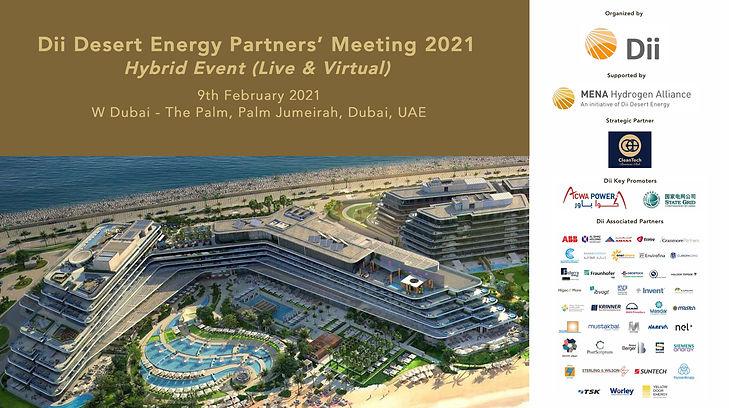 Dii Partners' (hybrid) meeting 2021 Thum