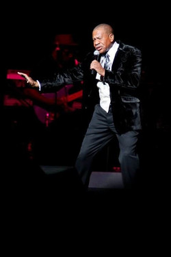 Lenny Williams Performing Live