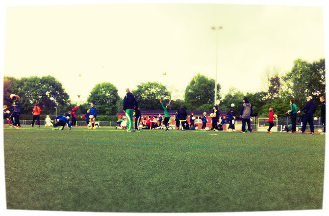 Der erste Fussball-Ferien Tag 2014