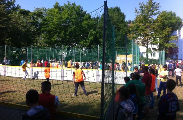 Offenbach: Street Soccer Turnier der Intensivklassen