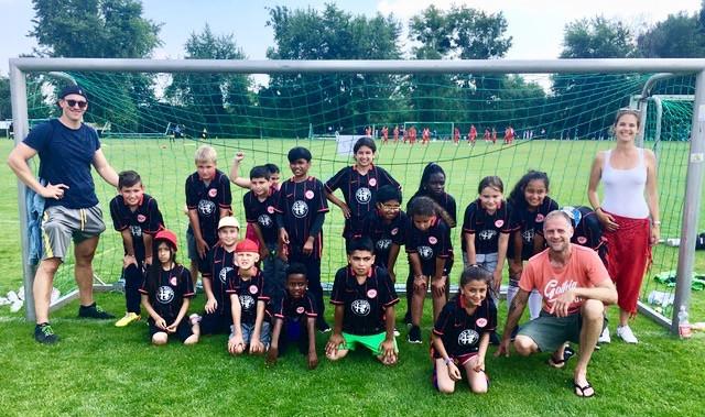 Das Team der Albert-Schweitzer-Schule holt den 4. Platz beim FtK Turnier 2018
