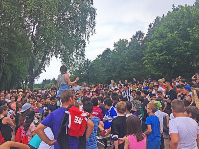 Über 450 Teilnehmer des FtK Abschlussturniers treffen sich auf der Wegscheide