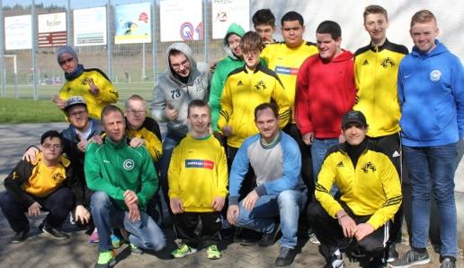 Nein! Zu Diskriminierung und Gewalt - Aufbauworkshop mit dem Team United von Teutonia Köppern