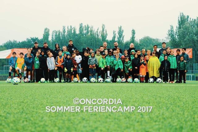 Fußballspaß in den Sommerferien
