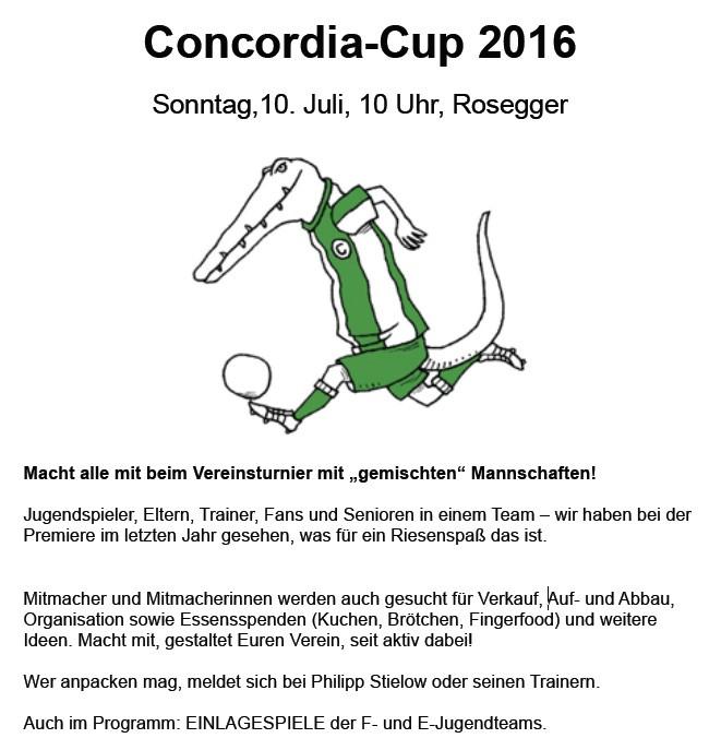 Concordia Cup 2016