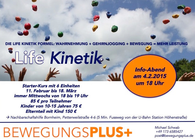 Life Kinetik Kurs in Frankfurt am Main