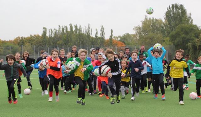 Fußballcamp Herbstferien