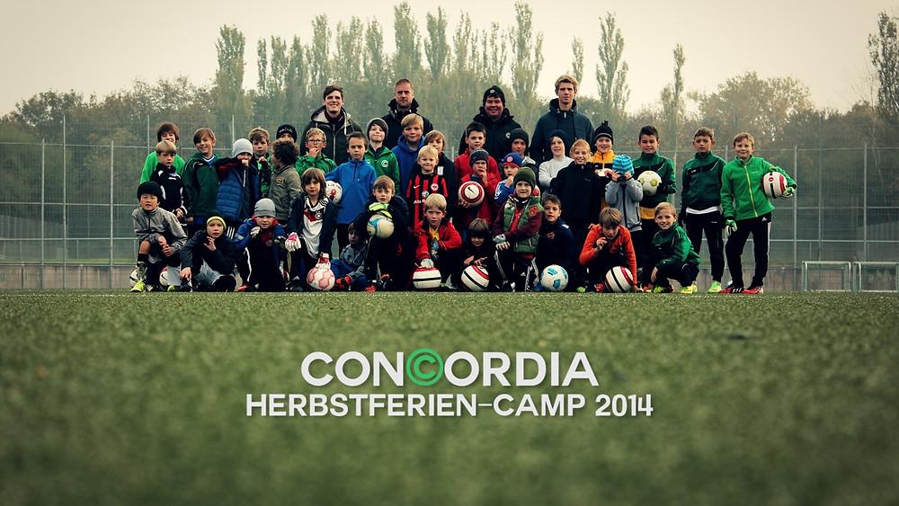fussballcampcamp concordia herbstferien