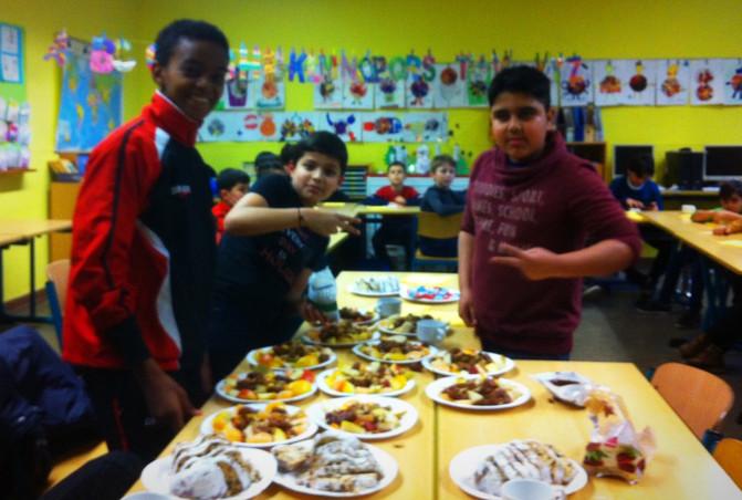 Fußball trifft Kultur an Weihnachten in der Albert-Schweitzer-Schule