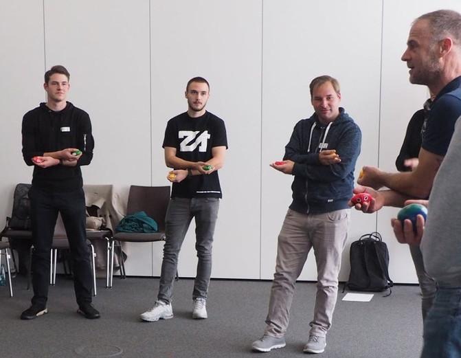 """Life Kinetik Trainerworkshop beim """"Fußball trifft Kultur"""" Netzwerktreffen"""