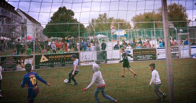 Strassenfußball für Toleranz