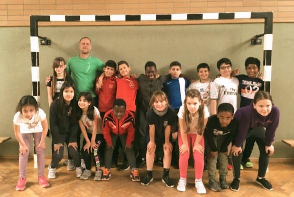 Fußball trifft Kultur - das Team der Albert-Schweitzer-Schule 2019