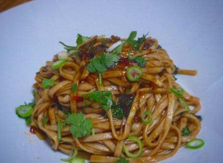 Posh 'Kitchen Sink' Noodles