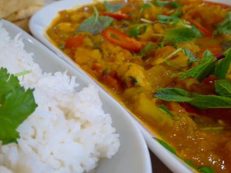 Fruity Prawn and Mango Curry #7recipes7days