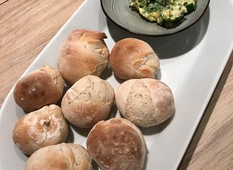 Dough balls with garlic butter!