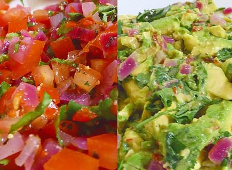 Salsa and Guacamole