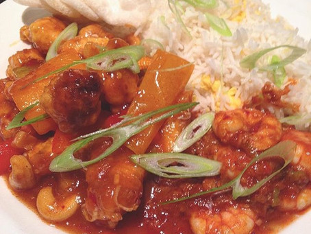 Kung Pao Chicken and Szechuan Prawns #7recipes7days
