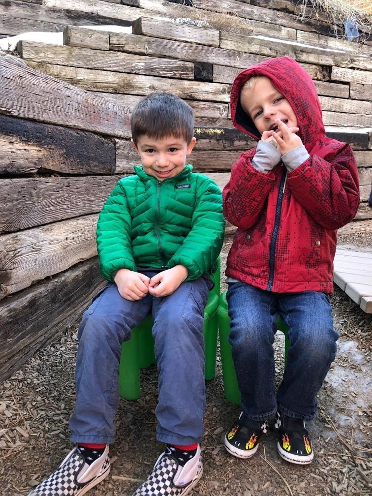 preschool students form friendships