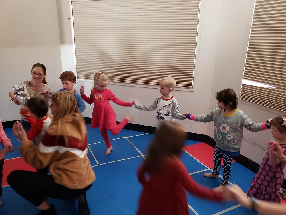 building social skills through yoga