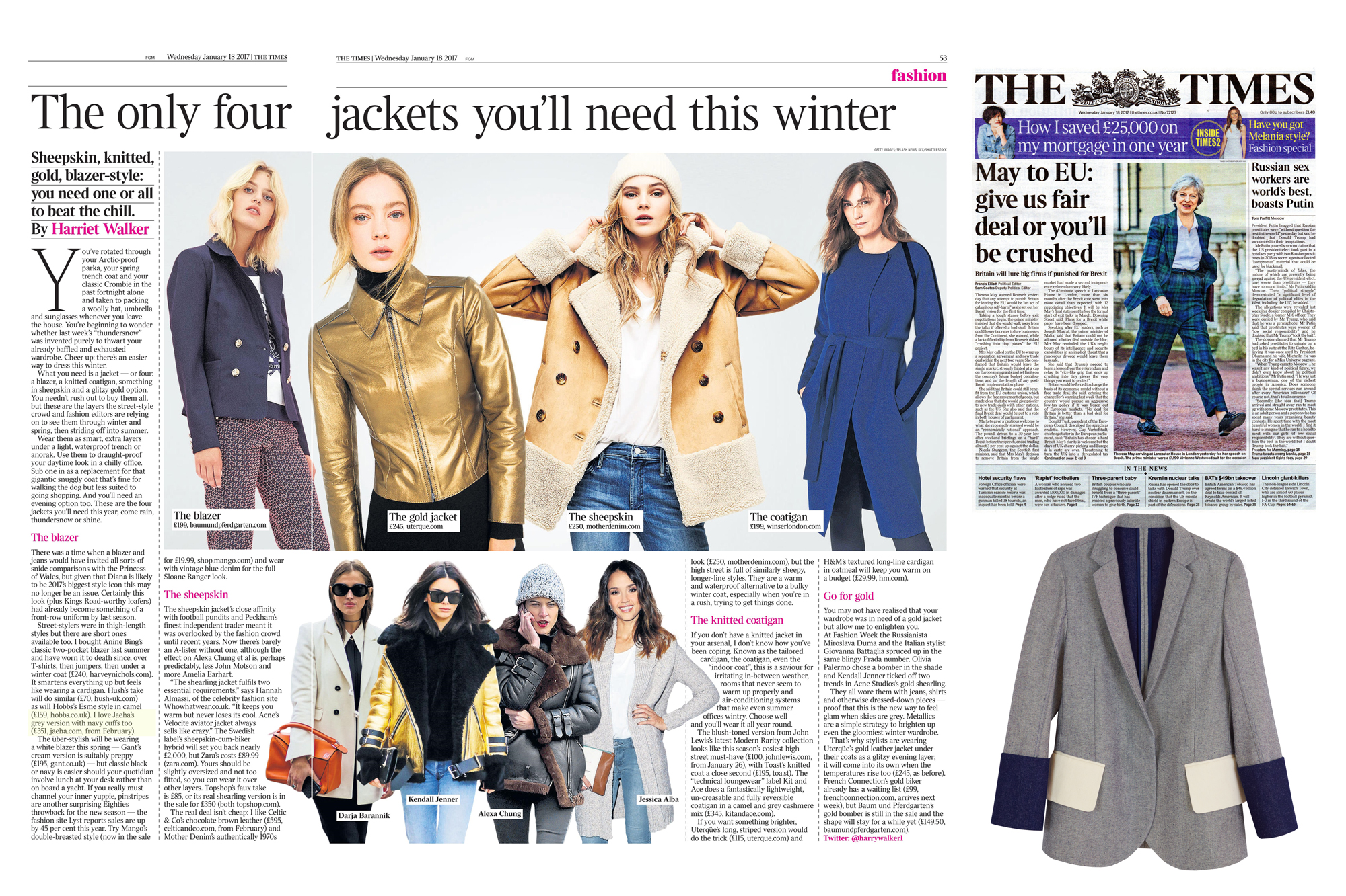 The Times - 8th Jan 2017