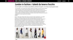 Coverage - Cosmopolitan Italia Online - 13.12.16